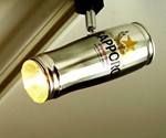 Beer Can Track Lighting