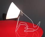 Cone Doggie Lamp