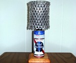 Pabst Blue Ribbon Can Lamp