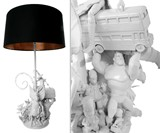 Childhood Toy Lamp in White