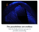 Firefly Blue Laser Lamp