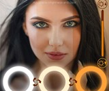 Flattering Video Chat & Meeting Ring Light