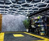 Hexa-LED Honeycomb Light Fixture