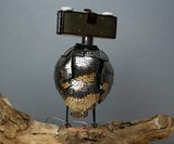 Owlberto the Wise Lamp - Back View