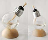 Recycled Light Bulb Oil Lamp Views