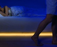 Motion Activated Under-Bed Lighting