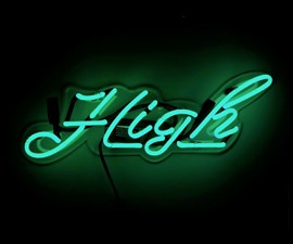 High Neon Sign