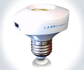 LampChamp USB Lamp Socket Charger