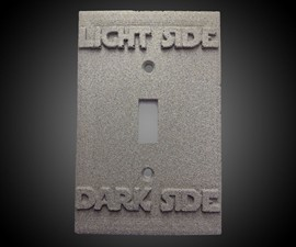 Light Side / Dark Side Switch Plate Cover