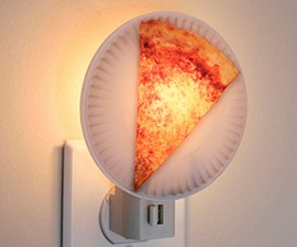 Pizza Slice Night Light