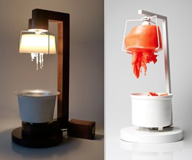 Self-Regenerative Wax Lamp