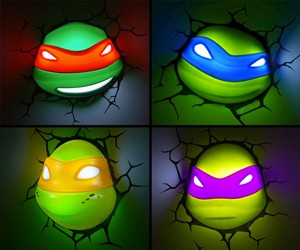 TMNT Nightlights