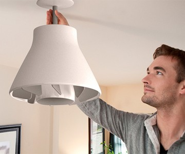 Air Tight Screw-in Ceiling Fan