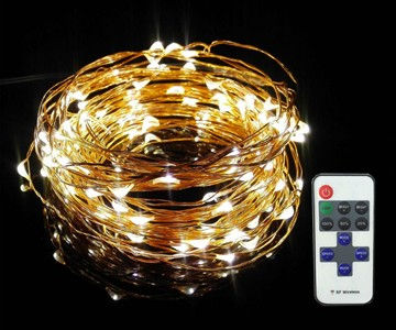 Dimmable LED String Lights