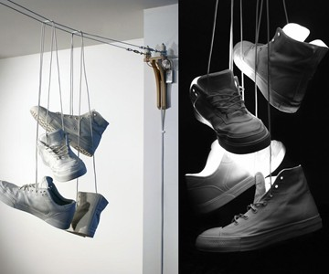 Shoefiti Hanging Lamp