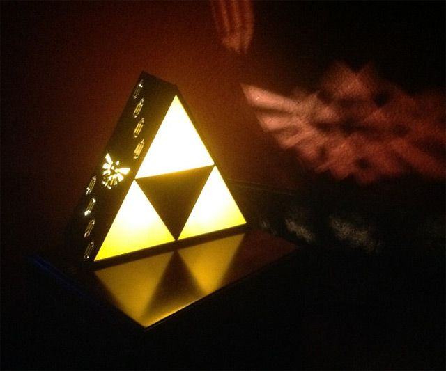household lighting. zelda triforce lamp household lighting