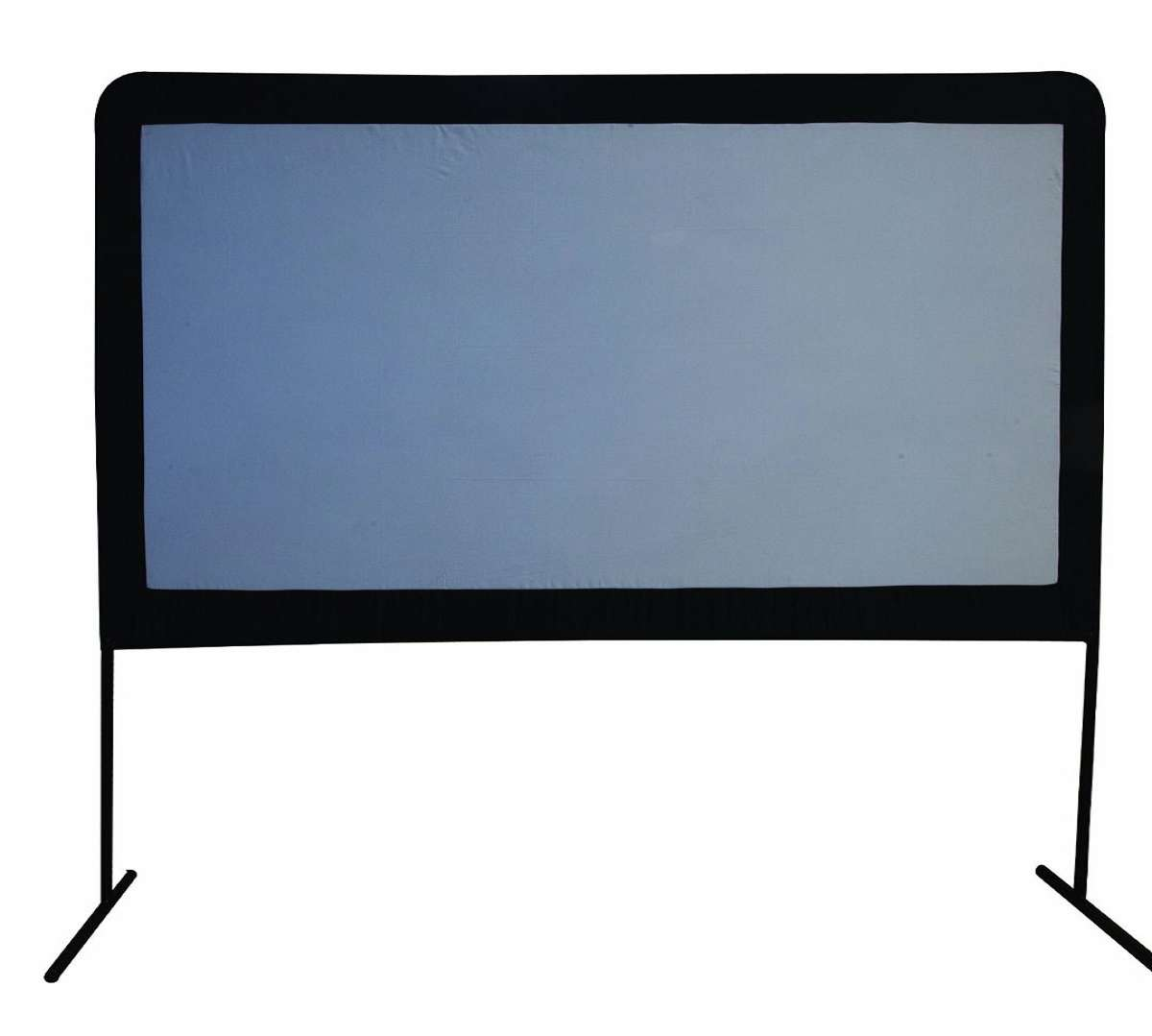 120 portable outdoor movie screen for Best portable projector for movies