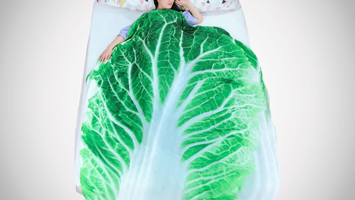 3D Fruit & Vegetable Comforters
