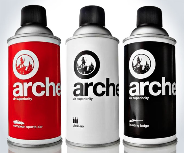 A Room Fit For An Archer: Archer Macho-Scented Room Sprays