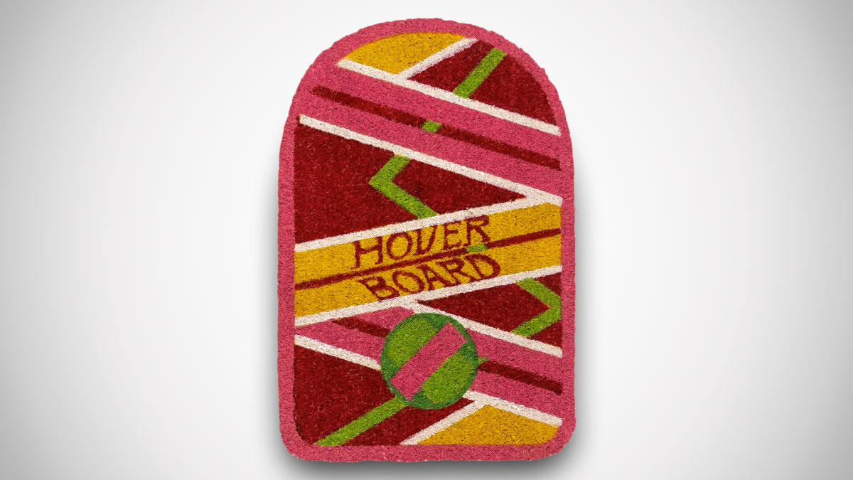 Back to the Future Hoverboard Doormat
