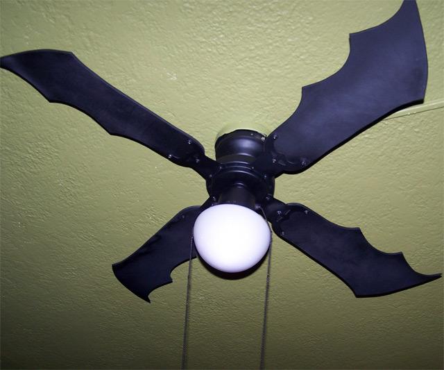 Batman Batwing Fan Blades Dudeiwantthat Com