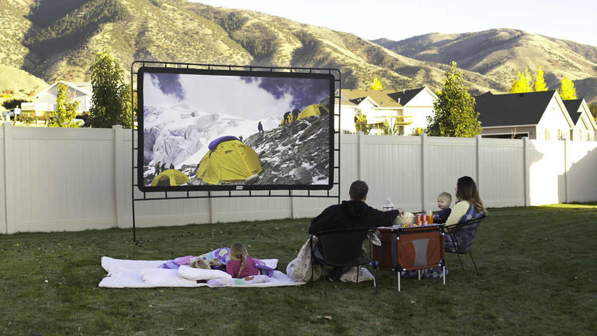 Camp Chef Indoor/Outdoor Movie Screen