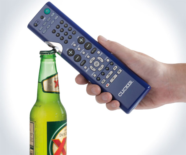 Clicker - TV Remote & Bottle Opener