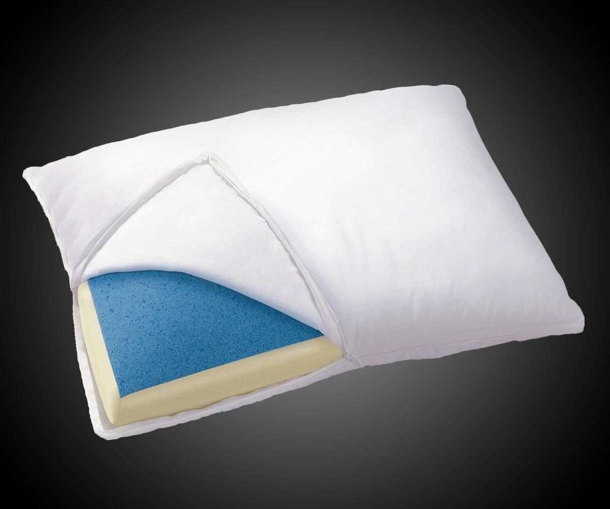 Cooling Gel Memory Foam Pillow Dudeiwantthat Com