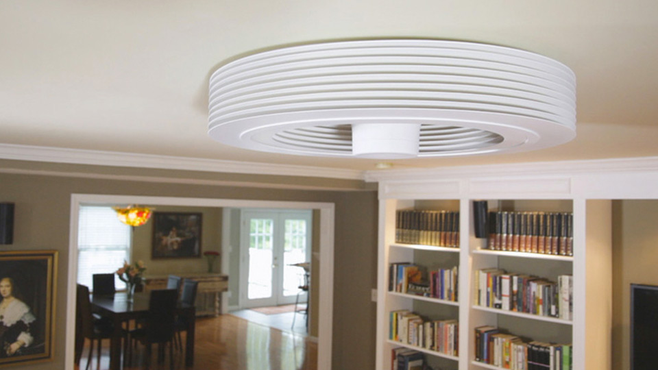 Exhale Bladeless Ceiling Fan ...