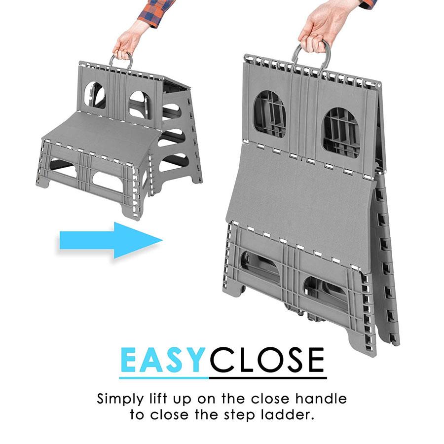 Fold Flat 2 Step Stool Dudeiwantthat Com