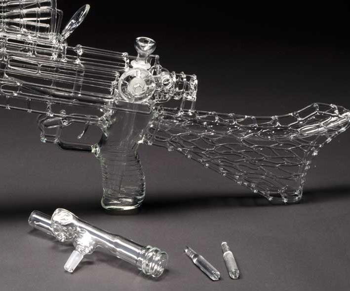 Acrylic Glass Bong