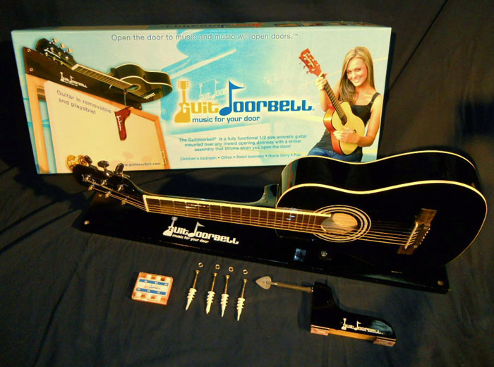 Guitdoorbell Guitar Doorbell Dudeiwantthat Com