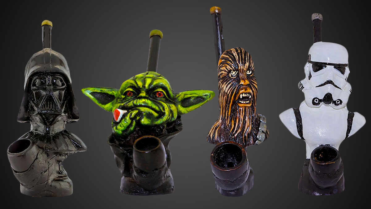 Handmade Star Wars Pipes