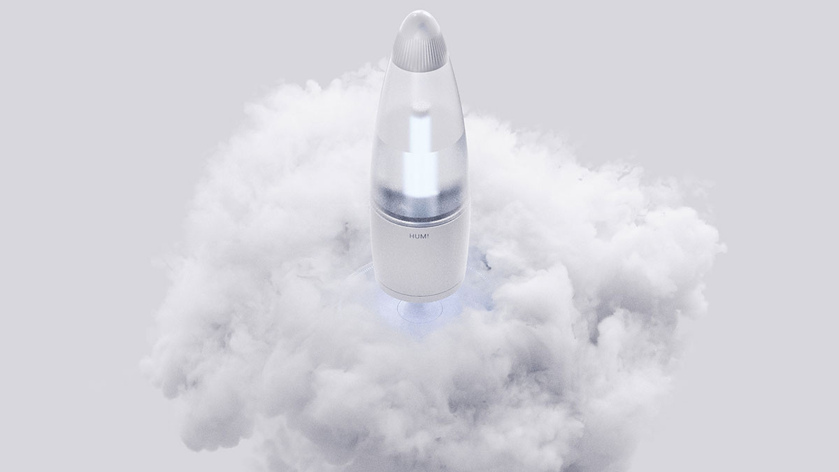 HUM! Rocket Humidifier