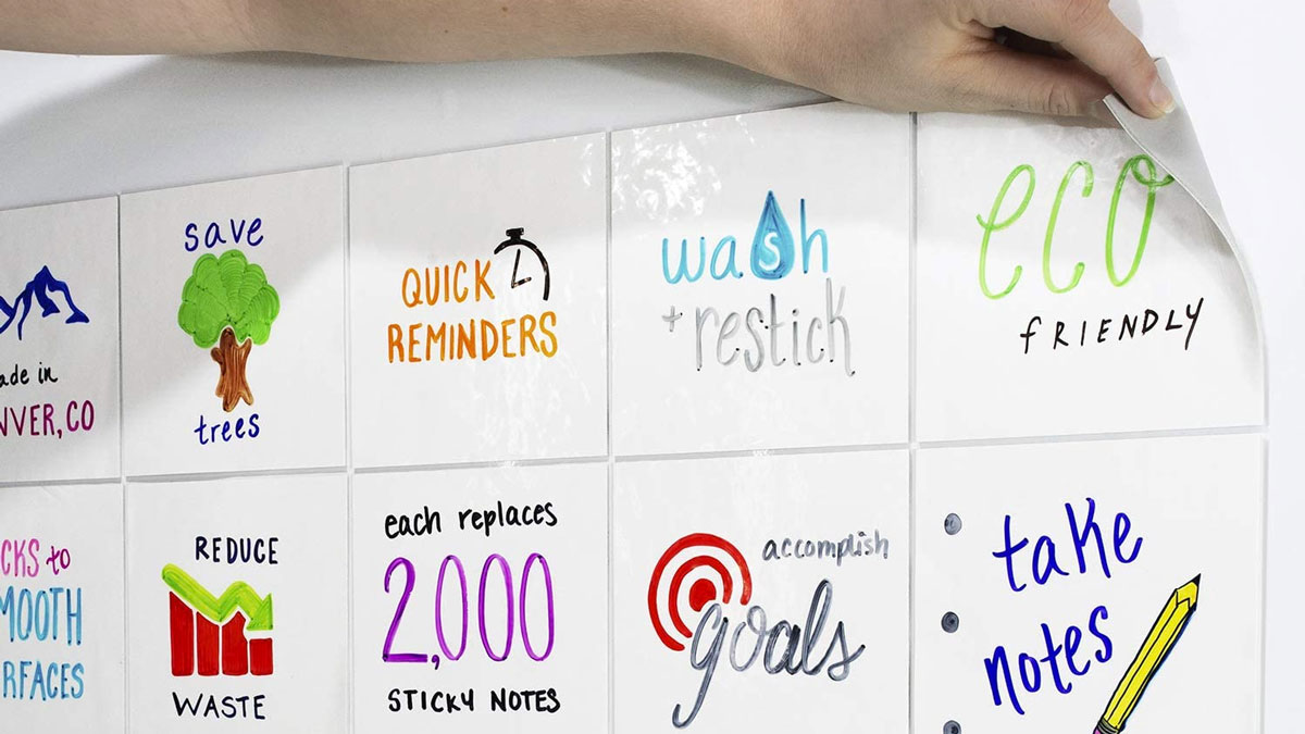 mcSquares 4x4 Dry-Erase Sticky Notes