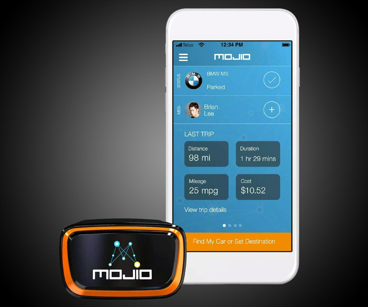 Mojio Car Monitoring Amp Smart Tracking System