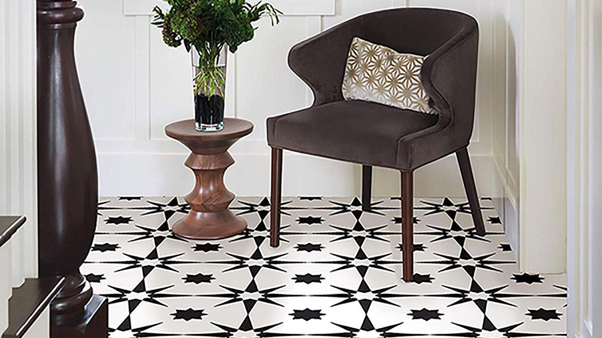 Floorpops L Stick Floor Tile
