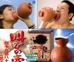 Japanese Shouting Vase and Packaging