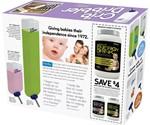 Prank Pack Fake Gift Boxes - Crib Dribbler Back of Box