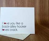 Back Alley Hooker Cards