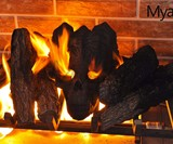 Demon Fireplace & Fire Pit Skull