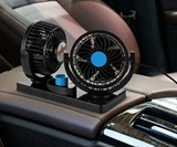 Dual Head Car Fan