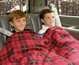 Electric Heated Fleece Travel Blanket