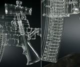 Glass AR-15 Gun Pipe Closeups