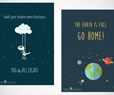Honest Monk Greeting Cards