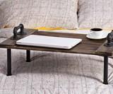Industrial Pipe & Wood Breakfast in Bed Tray & Lap Desk