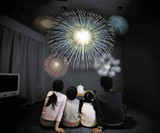 In-Home Fireworks Theater