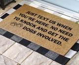 Just Text Us Doormat