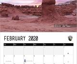 Nature's D*ck Pics 2020 Wall Calendar