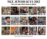 Nice Jewish Guys Calendar 2012